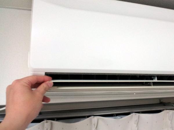 エアコン 自動掃除