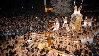 飛騨古川祭 起し太鼓